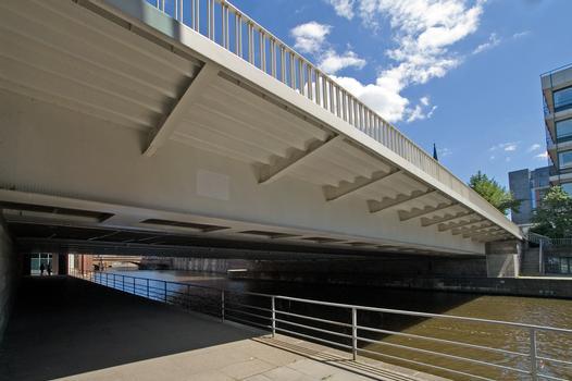 Slamatjen Brücke über den Alsterfleet, Hamburg