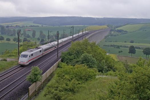 Aue Viaduct, High-speed Rail Line Hanover-Würzburg