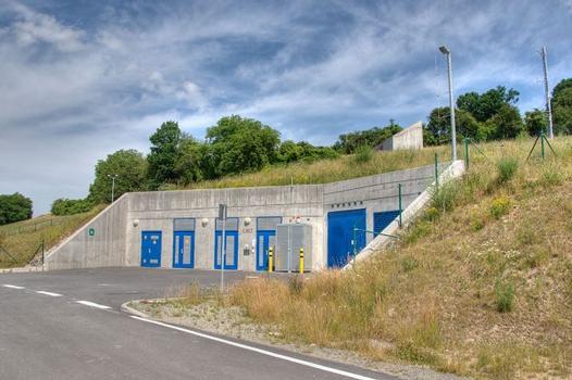 Der Fluchtstollen des Lohbergtunnels