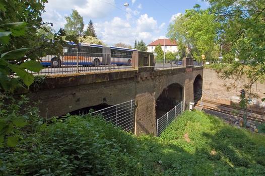 Bridge Dieburger Street, Odenwaldbahn Darmstadt