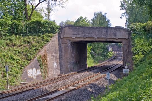Brücke Hohler Weg, Odenwaldbahn Darmstadt
