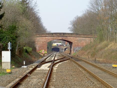 Brücke Seitersweg, Odenwaldbahn Darmstadt