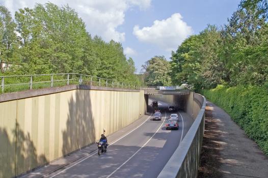Pont de la Hanauer Strasse sur l'Odenwaldbahn à Darmstadt