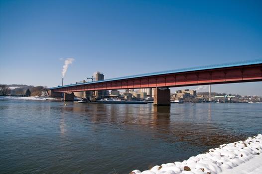 Rheinbrücke Weisenau