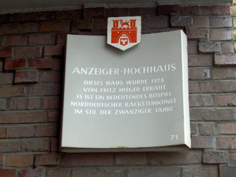 Anzeigerhochhaus, Hanovre