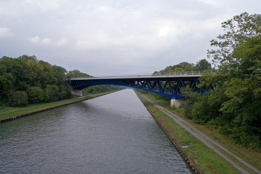 Nouveau pont de la B4 sur le Mittellandkanal