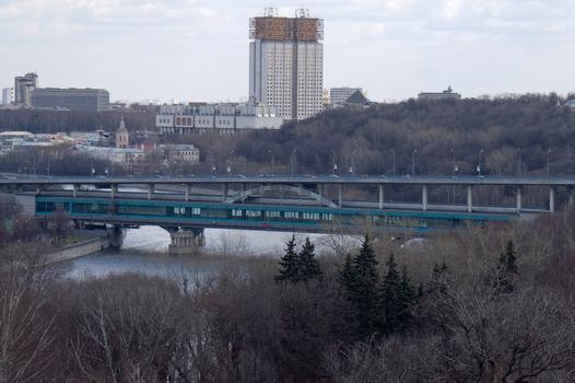 Metro-Brücke, Moskau