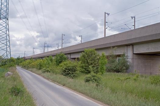 Viaduct over Ruther Street, High-speed Rail Line Hanover-Würzburg