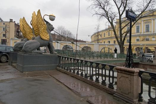 Pont de la Banque, Saint Pétersbourg