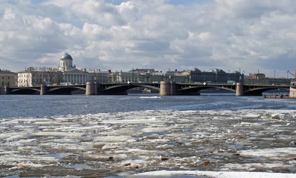 Exchange Bridge, Saint Petersburg