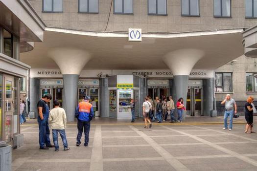 Moskovskie Vorota Metro Station