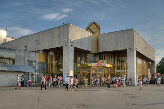 Ozerki Metro Station