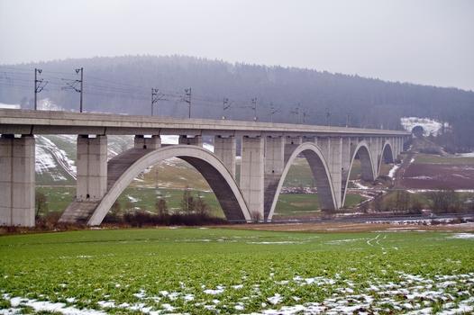 Wälsebach-Talbrücke, Neubaustrecke Hannover-Würzburg