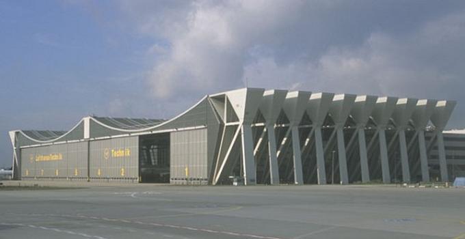 Lufthansa-Techink-Wartungshalle V