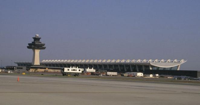 Dulles International Airport Terminal Building