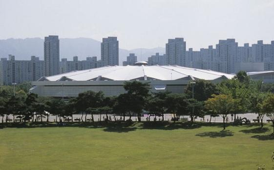Olympische Fechthalle in Seoul