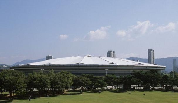 Olympische Gymnastikhalle in Seoul