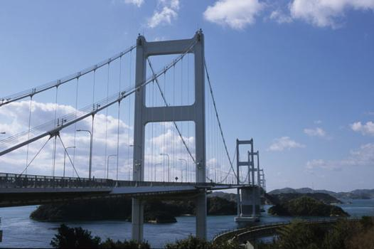 Erste Kurushima-Brücke