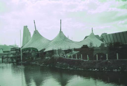 Deutscher Pavillon auf der Expo 1967