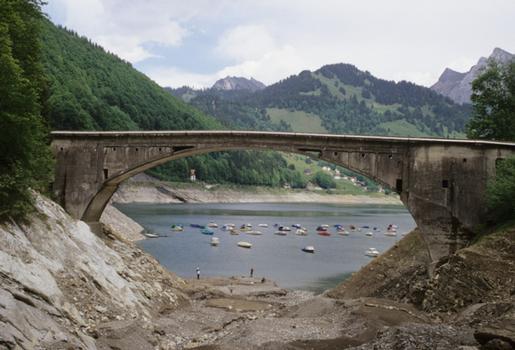 Schrähbachbrücke, Innerthal