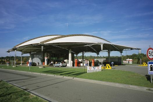 Stations-service de l'aire de Wanlin