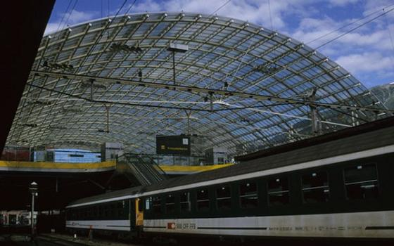 Chur Railway and Bus Station Roof