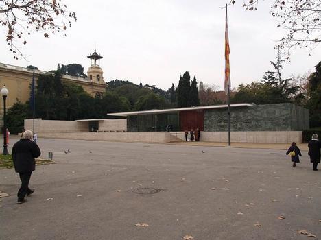 Deutscher Pavilion in Barcelona