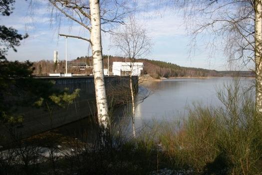 Vesdre Dam at Eupen