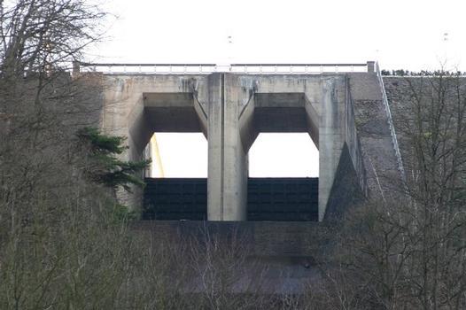 Deversoirs du Barrage