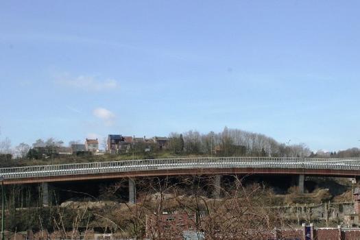 Viaduc de Lambermont, rampe d'accès
