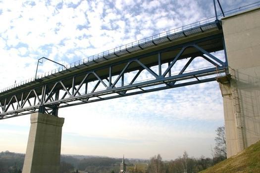 Viaduc de Moresnet face Sud culée Est