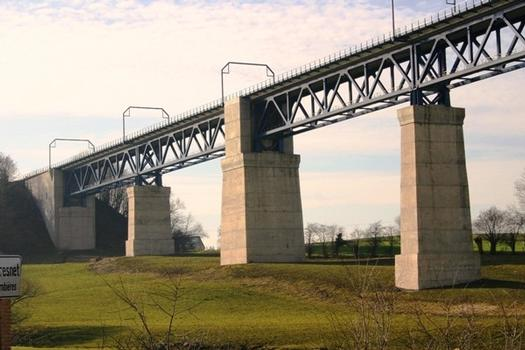 Viaduc de Moresnet face Sud culée Ouest