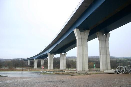 Moselviadukt zwischen Schengen und Perl