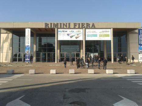 Rimini Exposition Center, eastern gate