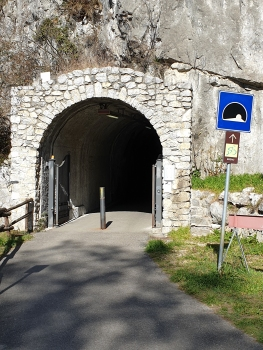 Cividate pedestrian and bicycle Tunnel southern portal