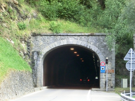 Toira Tunnel southern portal