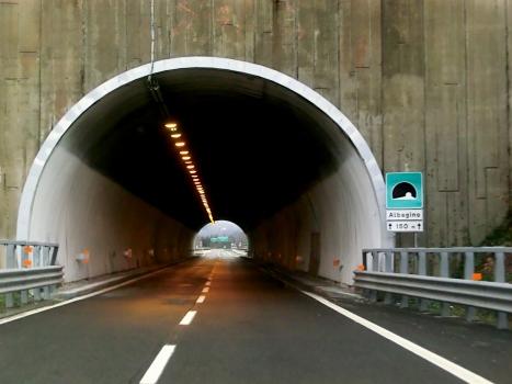 Albagino Tunnel northern portal