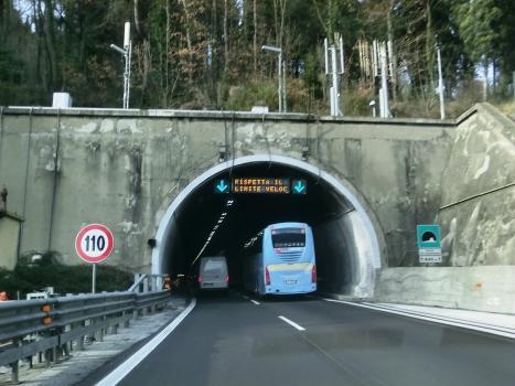 Croci di Calenzano Tunnel southern portal