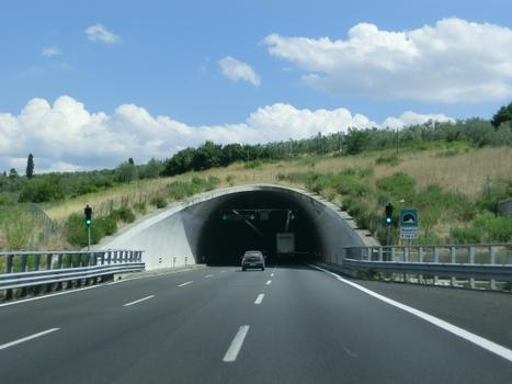 Melarancio Sud Tunnel western portal