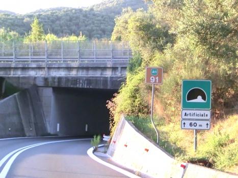 Svincolo Massarosa Tunnel southern portal