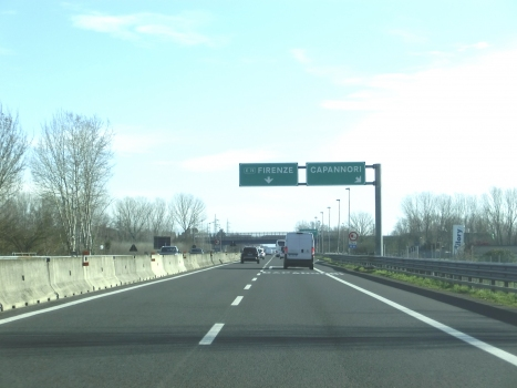 A 11 Motorway (Italy) at Capannori