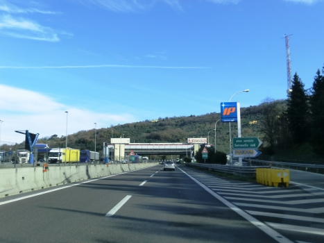 A 11 Motorway (Italy) at Serravalle service station