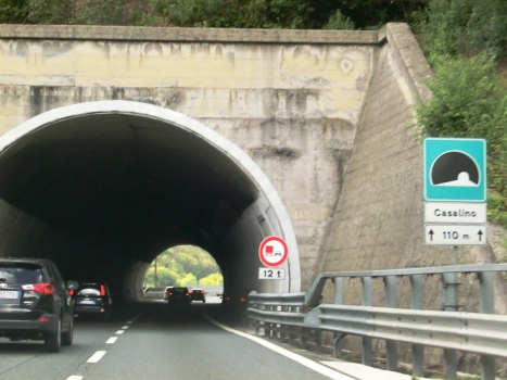 Casalino Tunnel eastern portal