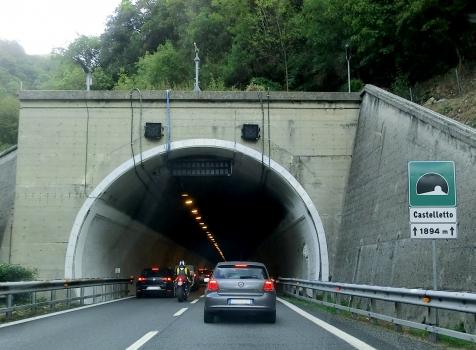 Castelletto Tunnel eastern portal