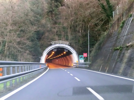 Soggio Tunnel eastern portal