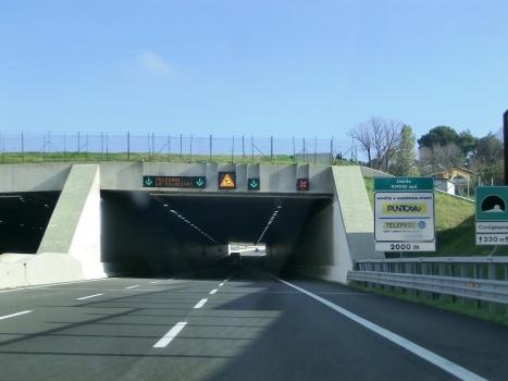 Covignano Tunnel northern portal