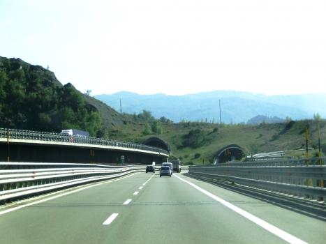 Roccaprebalza Tunnel northern portals