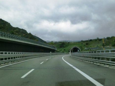 Roccaprebalza Tunnel northern portal