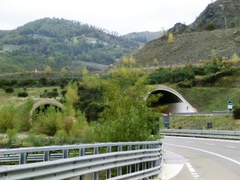 Roccaprebalza Tunnel southern portals