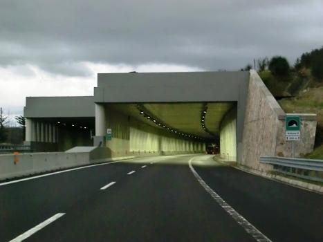 Bollone II Tunnel northern portals
